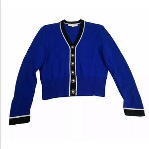 St. John Collection Santana Knit Cardigan Size P